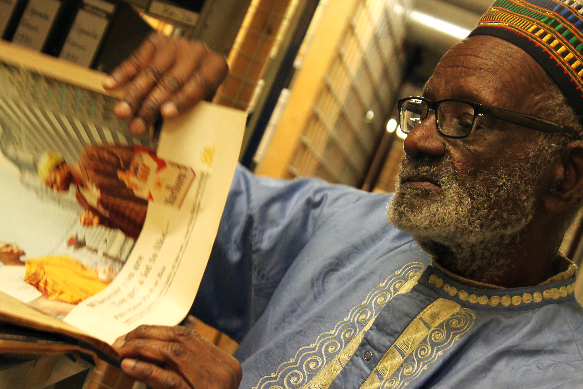 Digging into the African Studies Centre's Archive